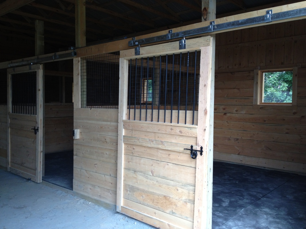 Shedme 8x10 shed plans in nc for Horse stall plans