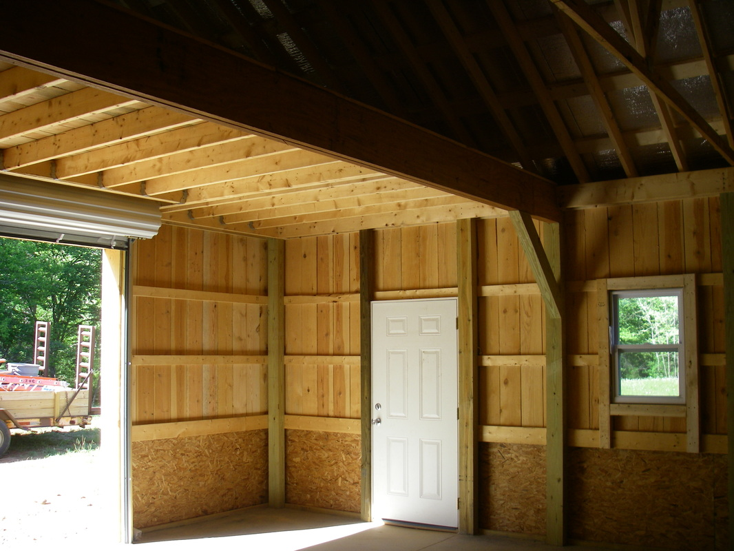 Pole buildings for Pole barn house inside pictures