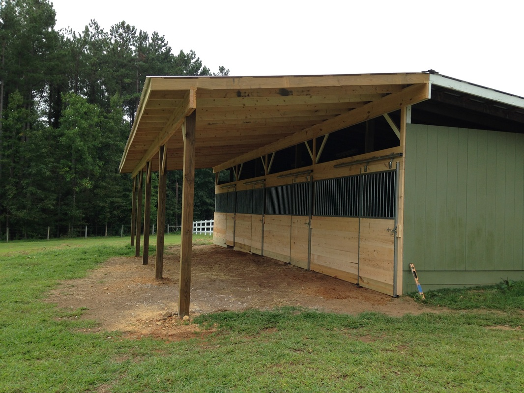 Horse stalls for 2 stall horse barn kits